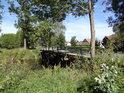 Silniční most přes Tichou Orlici v obci Plchovice.