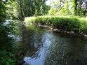 Řeka Tichá Orlice v úseku Jablonné nad Orlicí - Letohrad