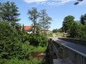 Kamenný silniční most přes Tichou Orlici ve Verměřovicích.
