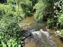 Tichá Orlice přitéká do prvního města na svém toku, kterým je Jablonné nad Orlicí.