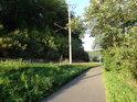Cyklistická stezka podél Tiché Orlice a železniční trati Ústí nad Orlicí – Letohrad.