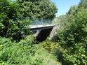 Pod silničním mostem přes Tichou Orlici v Lichkově.
