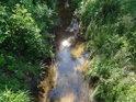 Tichá Orlice je v obci Dolní Orlice stále ještě potok.