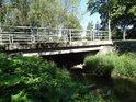 Silniční most přes Tichou Orlici nedaleko obce Dolní Lipka.