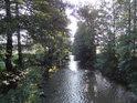 Tichá Orlice nedaleko obce Hrádek.