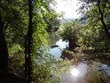 Řeka Tichá Orlice v úseku Ústí nad Orlicí - Choceň
