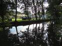 Za Tichou Orlicí se nachází tábořiště Cakle.